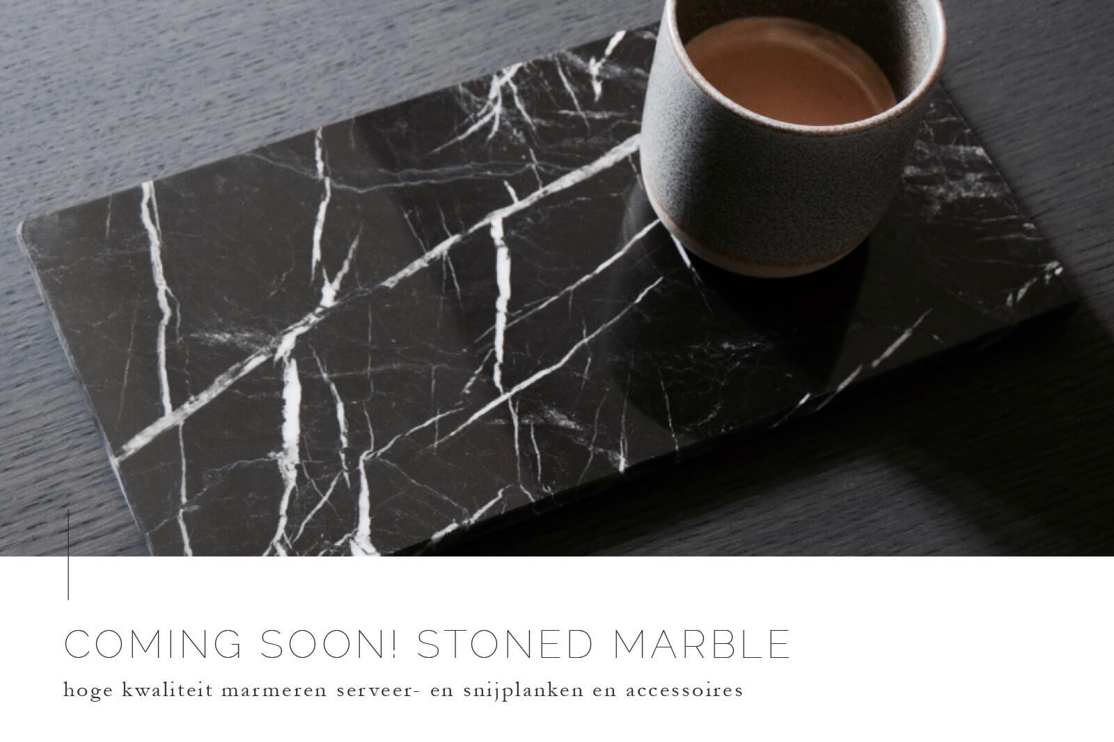 TWENTYTWONOTES Marmeren snijplanken STONED Marble