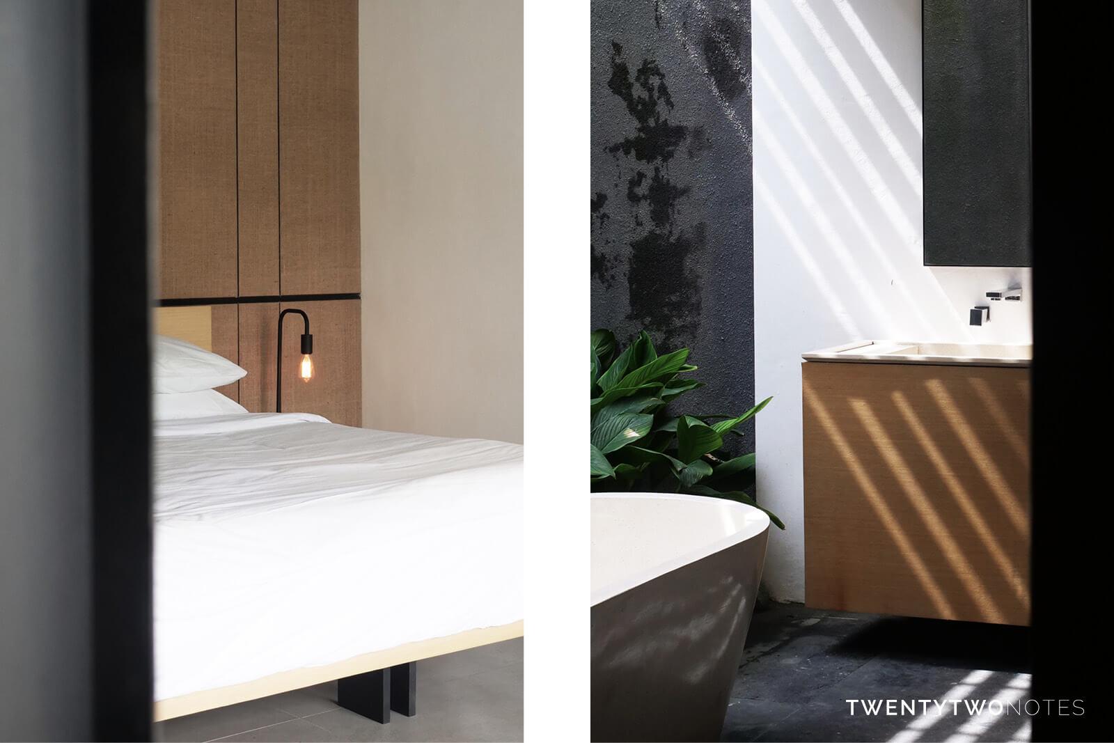 Twentytwonotes boutique stijl privé villa voor minimalistisch