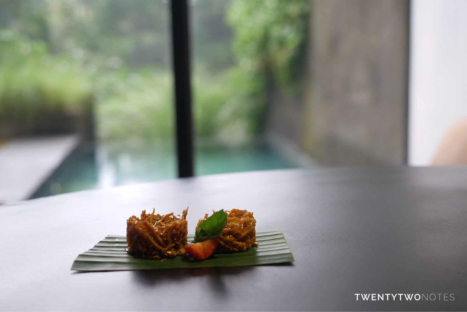 TWENTYTWONOTES Origin privé villa in Ubud Bali