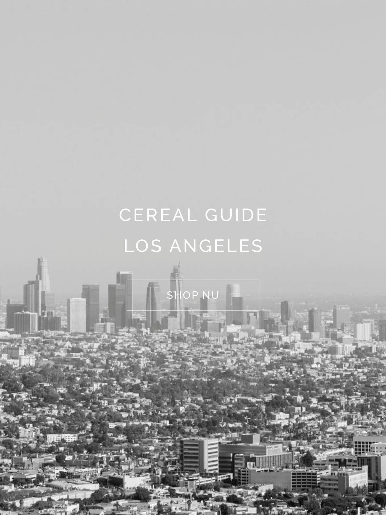 TWENTYTWONOTES Cereal Guide Los Angeles