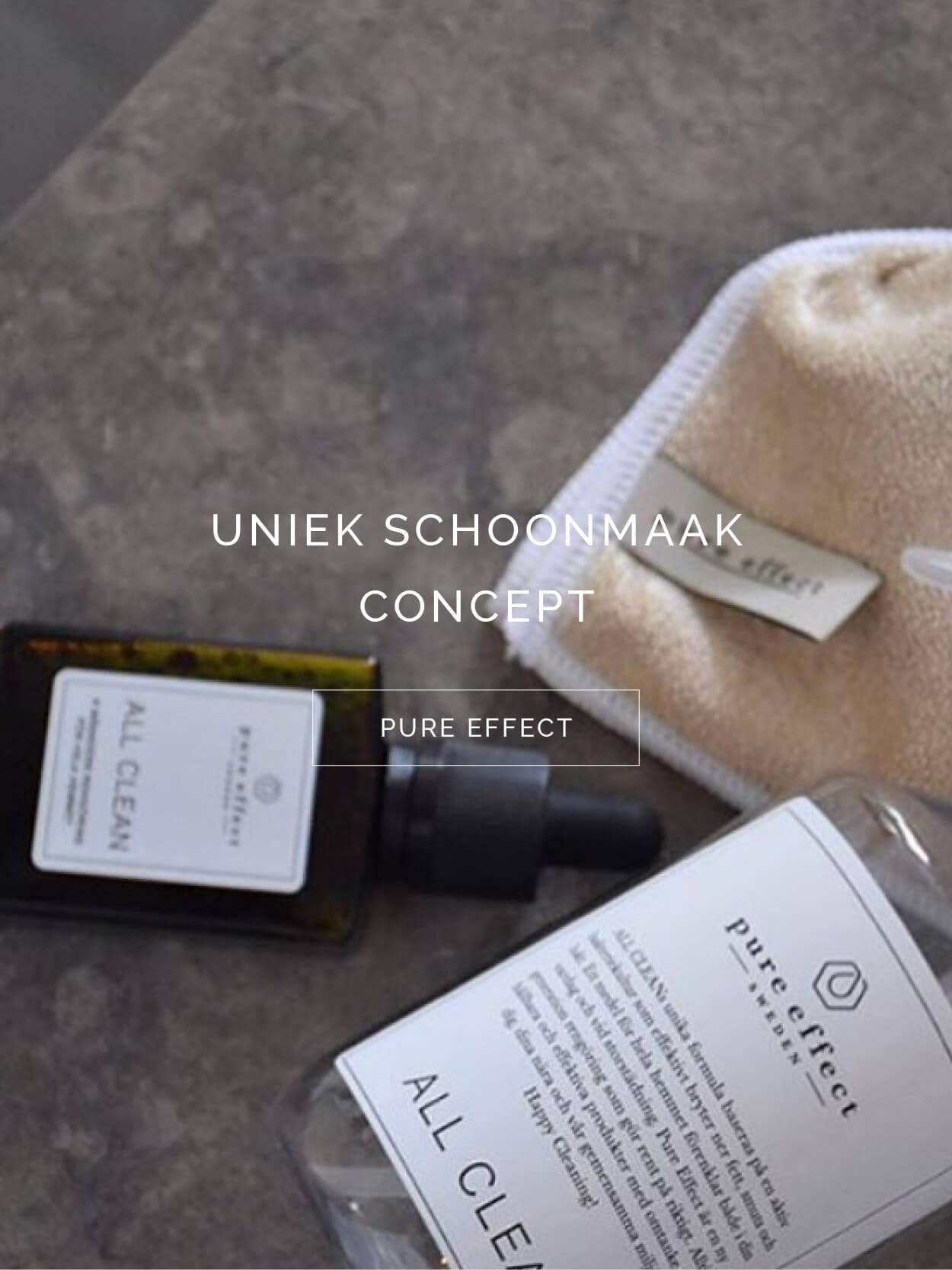 TWENTYTWONOTES Pure Effect Sweden schoonmaakproducten