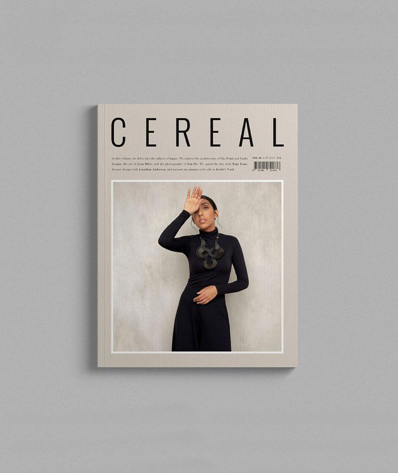 TWENTYTWONOTES Cereal Magazine Volume 18_cover