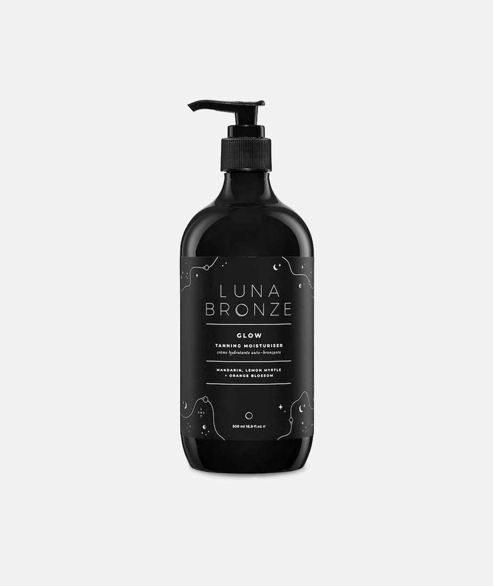 Luna Bronze Glow natuurlijke zelfbruiner licht pompflacon TWENTYTWONOTES