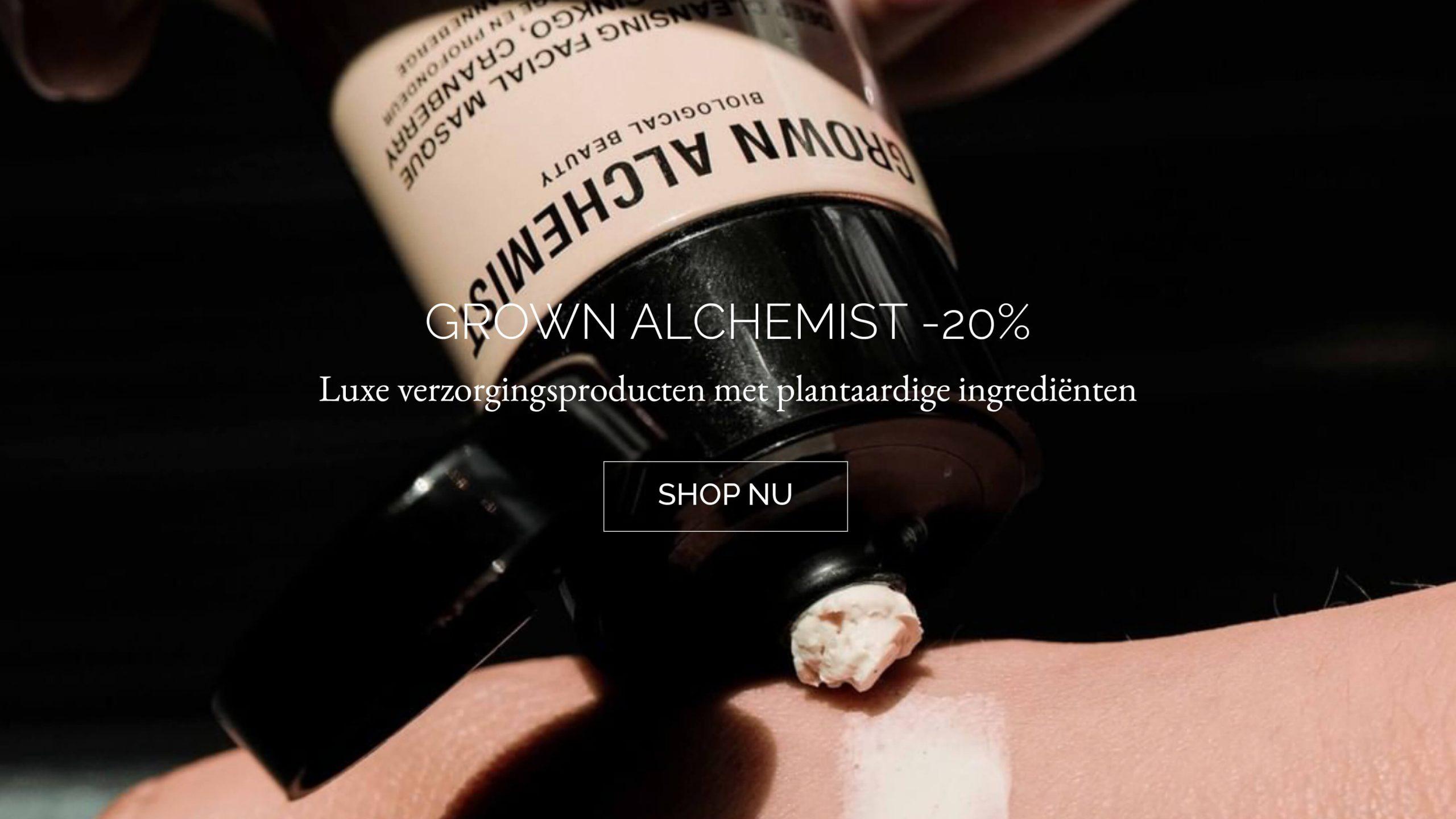 TWENTYTWONOTES | Grown Alchemist natuurlijke verzorgingsproducten