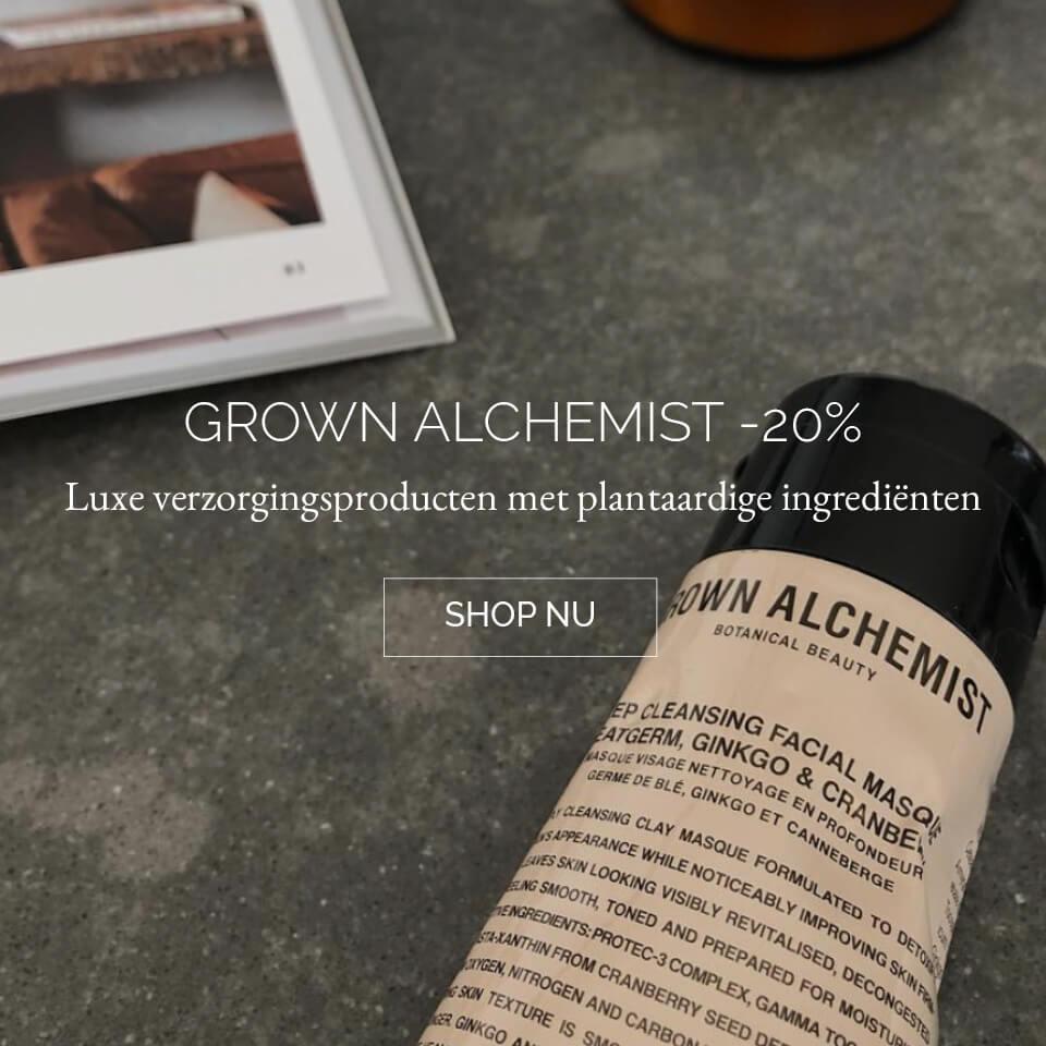 TWENTYTWONOTES | Grown Alchemist natuurlijke verzorging