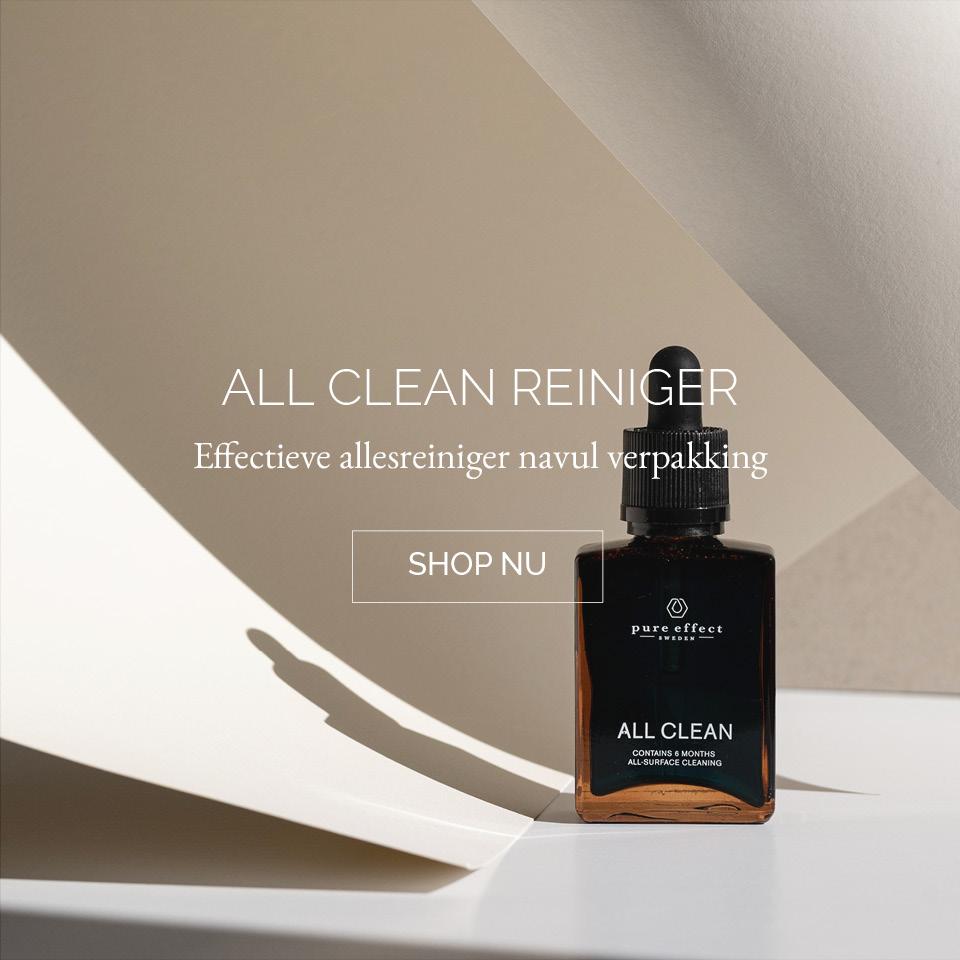 TWENTYTWONOTES | Pure Effect Sweden duurzame schoonmaakproducten