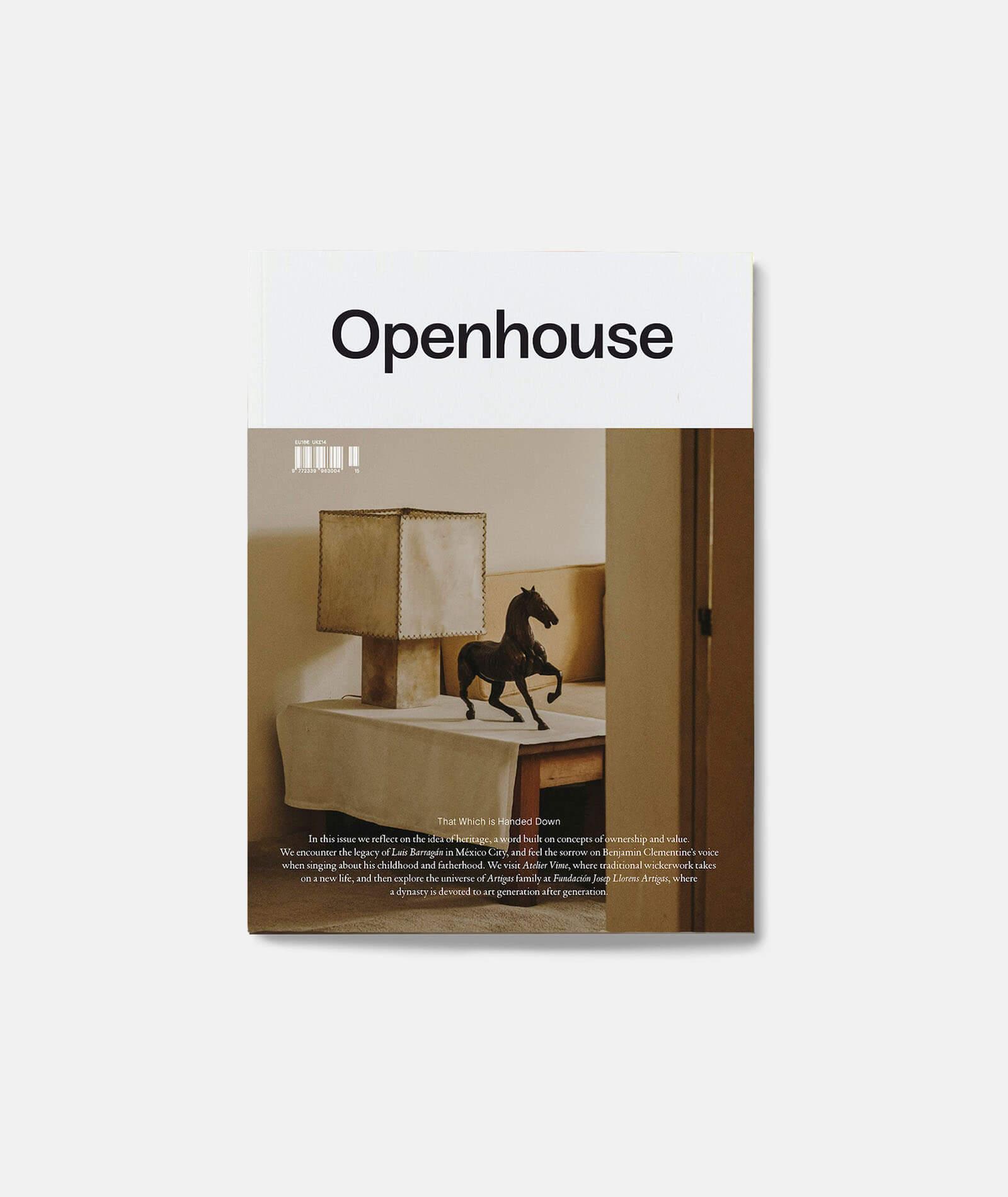 Openhouse Magazine Issue No. 15
