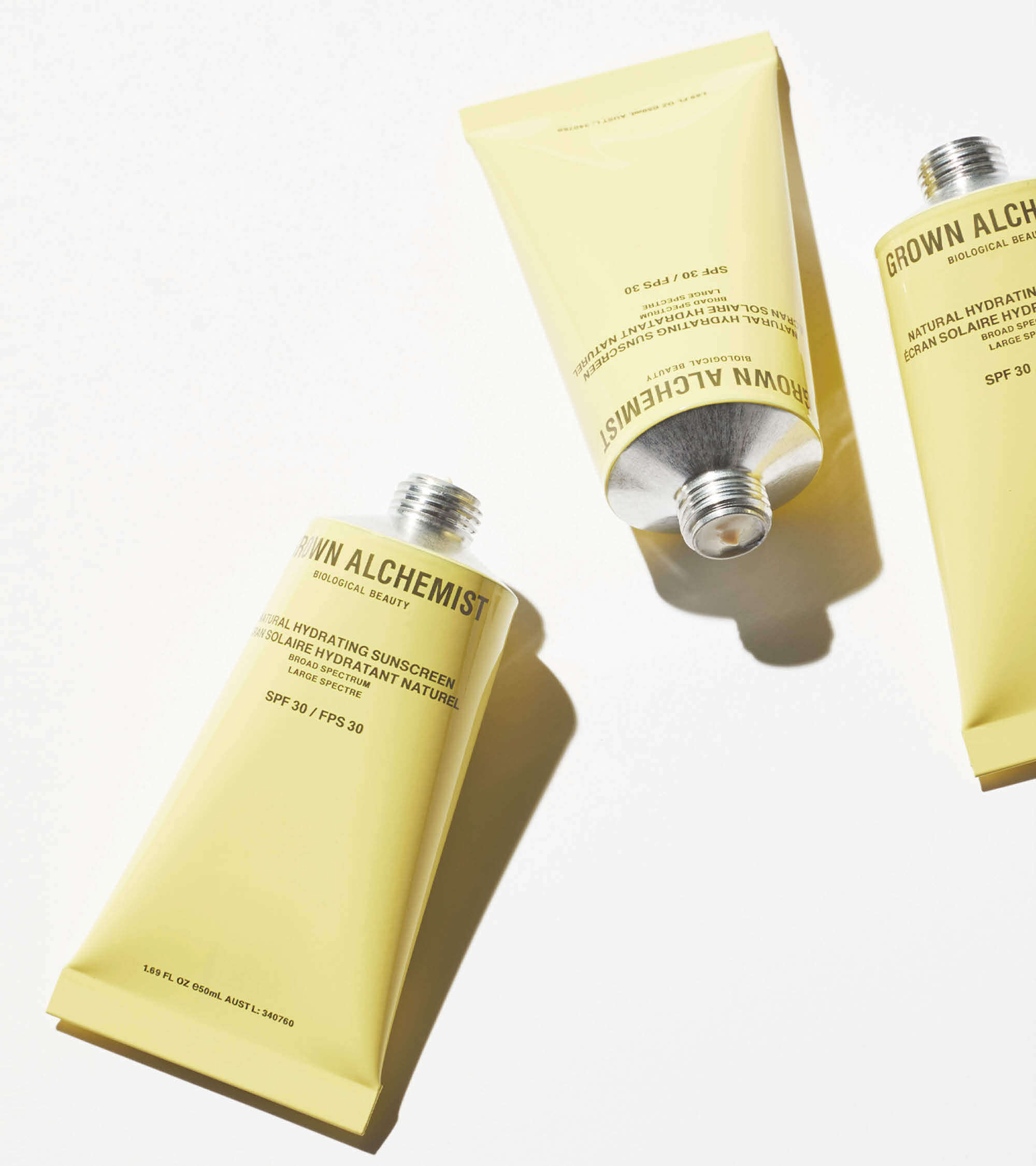 TWENTYTWONOTES | Grown Alchemist Natural Sunscreen SPF 30 | natuurlijke zonnebrand