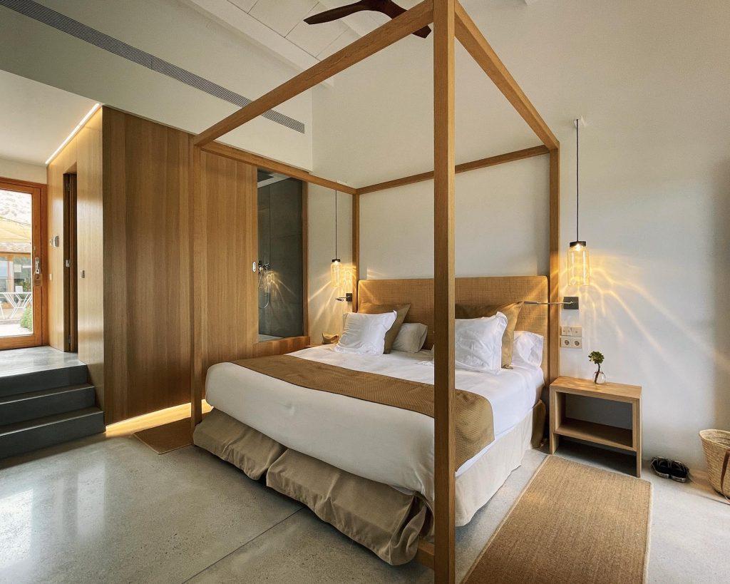 TWENTYTWONOTES Finca S'Estelrica bedroom